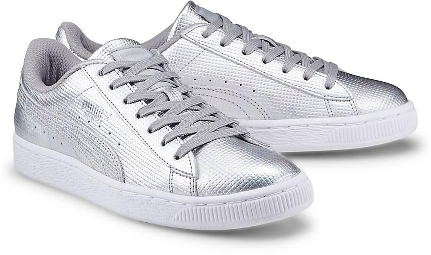 2017 Schuhe Damen PUMA Soliel V2 Sneaker WeißSilver