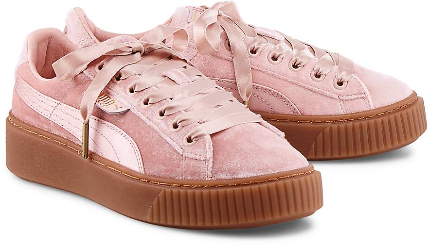 puma basket platform ws sneaker low rosa g rtz. Black Bedroom Furniture Sets. Home Design Ideas