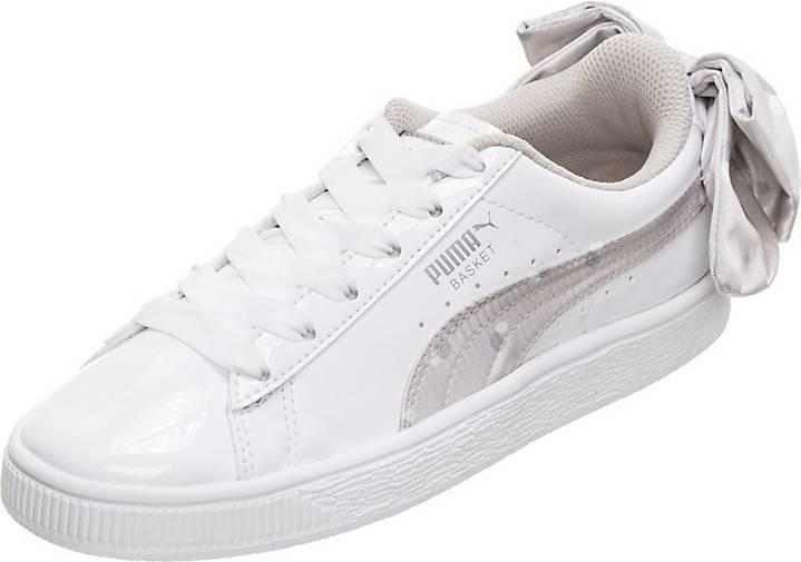 Puma Basket Bow Dots Sneaker Kinder