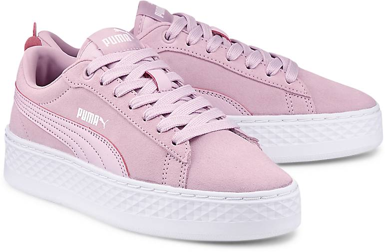 puma platform rosa