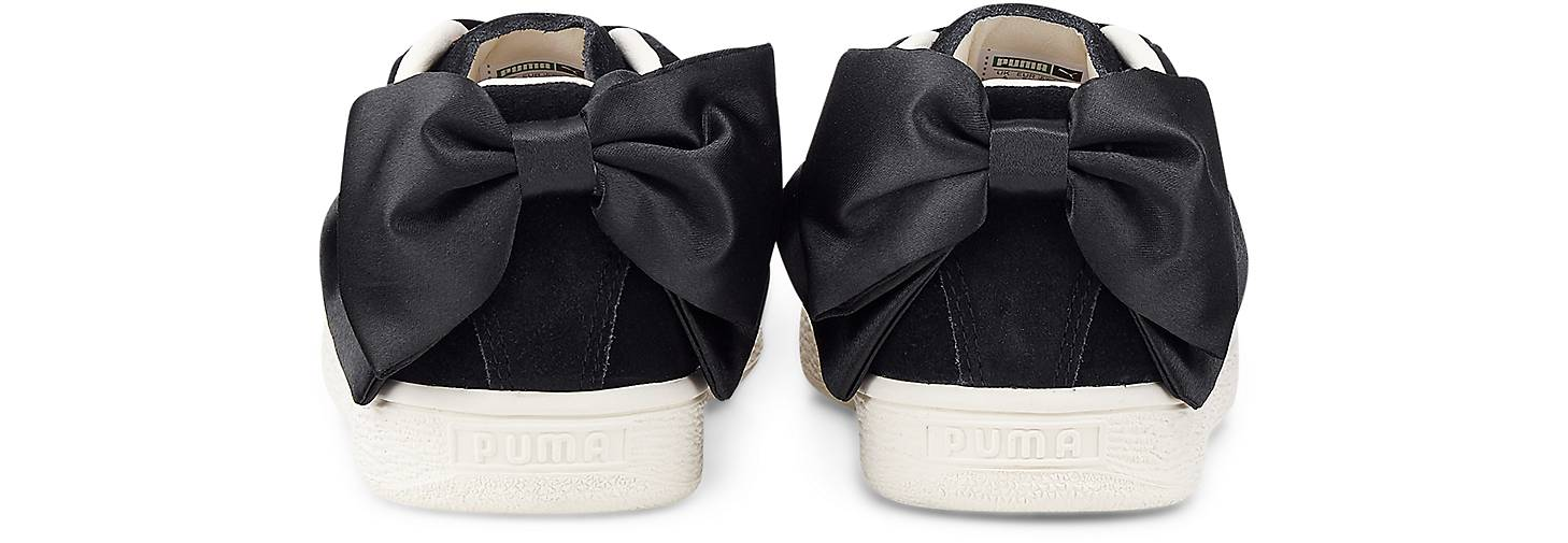 SUEDE BOW FLOWERY