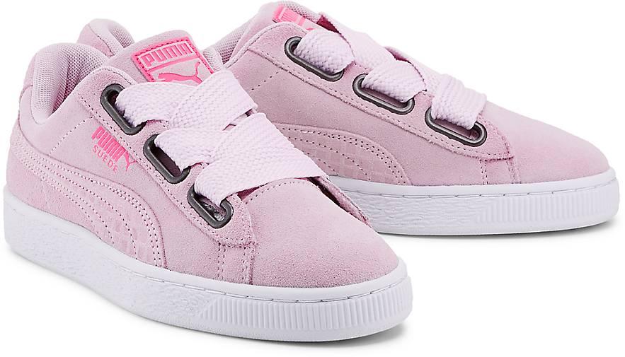 9d9b35bf2f4b6b Puma SUEDE HEART UPRISING in rosa kaufen - 47497002