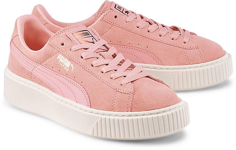 puma mit schleife rosa