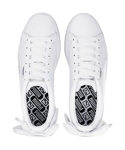 Puma Turnschuhe BASKET BOW in weiß kaufen - 47039601 GÖRTZ beliebte Gute Qualität beliebte GÖRTZ Schuhe 897d4b