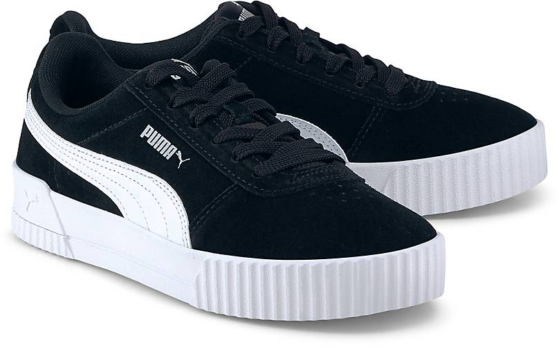 puma sneaker damen schwarz