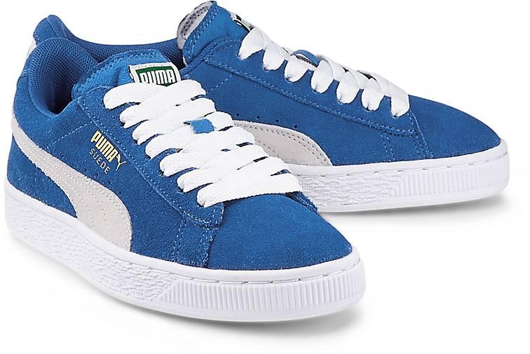 4bcd7a8c6129c1 puma sneakers blau puma sneakers blau,McQ PUMA Sneakers Blau Kalbsleder  Gewebefasern Damen Schuhe,puma ...