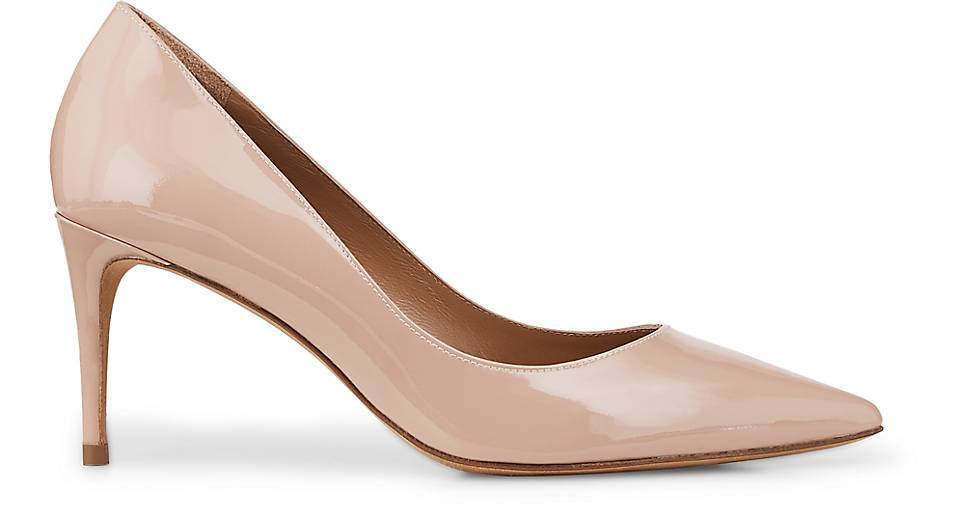 Pura Lopez Lackleder-Pumps in nude nude nude kaufen - 48441402 GÖRTZ Gute Qualität beliebte Schuhe 243cb7