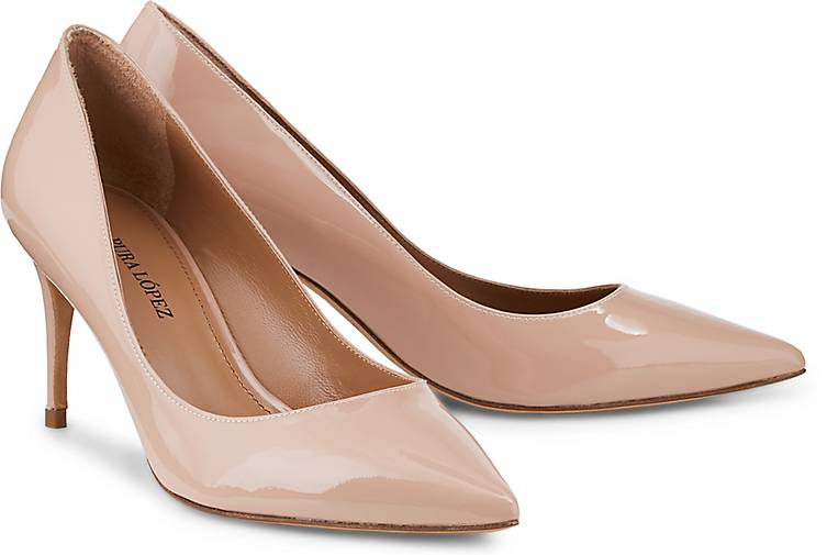 Pura Lopez Lackleder-Pumps