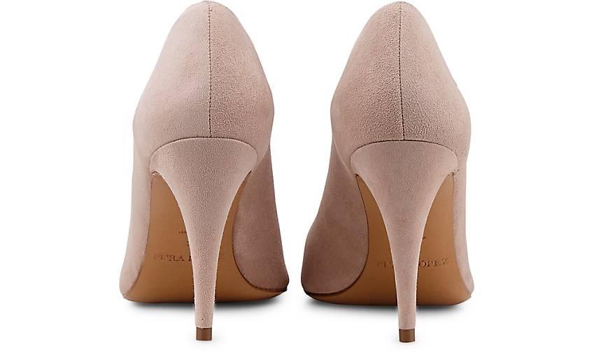 Pura Lopez Velours-Pumps in rosa GÖRTZ kaufen - 46737810 | GÖRTZ rosa Gute Qualität beliebte Schuhe 41c4a8