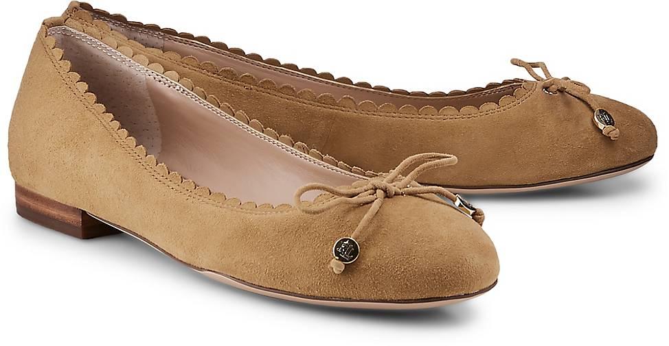 Ralph Lauren GLENNIE FLAT in braun-mittel kaufen - 48004502 GÖRTZ GÖRTZ GÖRTZ Gute Qualität beliebte Schuhe 1ebefe