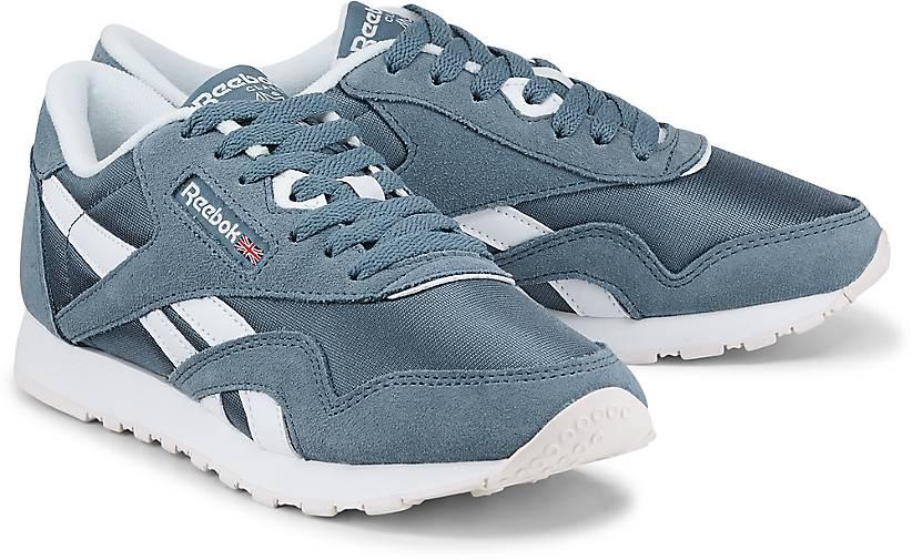 Nylon mittel Classic Kinder Sneaker Blau xvS4zFq