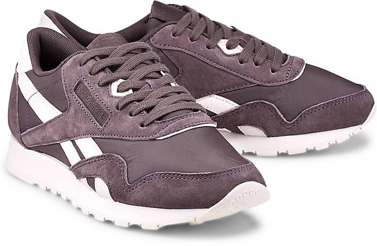 Classic Lila Nylon dunkel Damen Sneaker aYqvw5B0