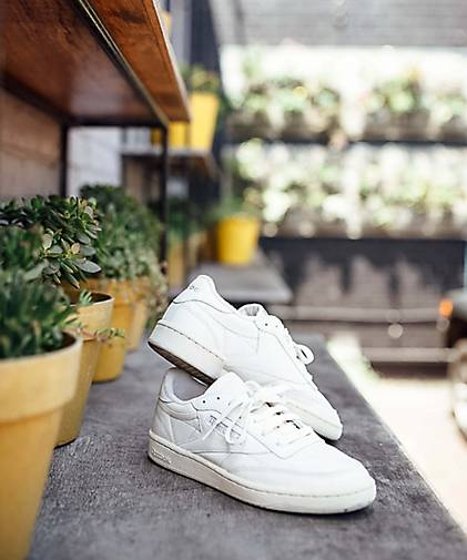Reebok Classic Sneaker CLUB C 85 in beige kaufen - Qualität 46467901 | GÖRTZ Gute Qualität - beliebte Schuhe f1afb3