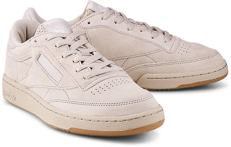reebok classic sneaker club c85 tg sneaker low beige. Black Bedroom Furniture Sets. Home Design Ideas