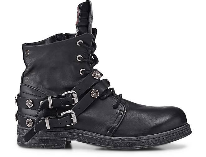 d2a4c9878b15a2 ... Replay Biker-Boots - DISKRET in schwarz kaufen - Biker-Boots 46770401