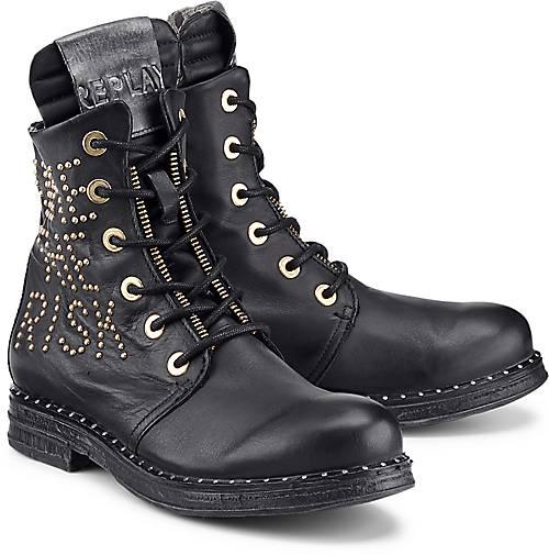 a5c7772fc262ce Replay Biker-Boots STAKE in schwarz kaufen - 47697101