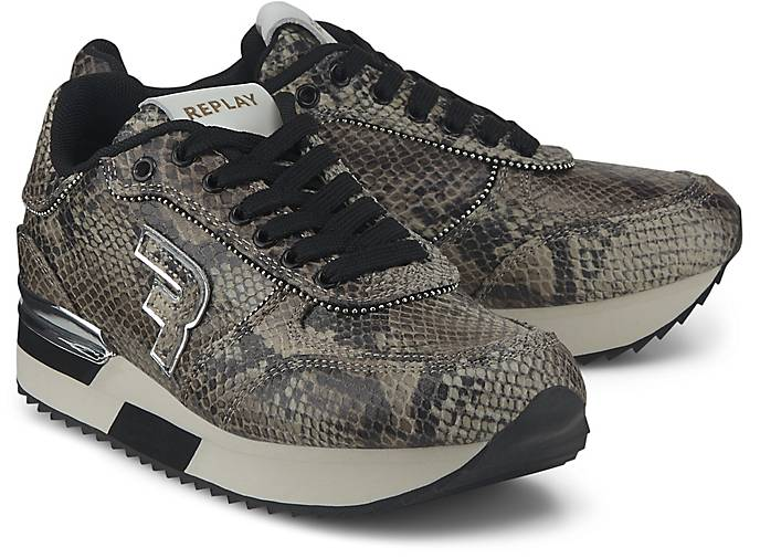 Sunflower Replay In Low Python Sneaker Kaufen L54jRq3A