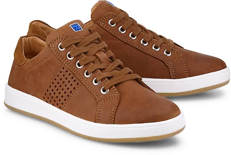 Richter Leder-Sneaker in braun-mittel kaufen - 47098001   GÖRTZ b4320e1fa3