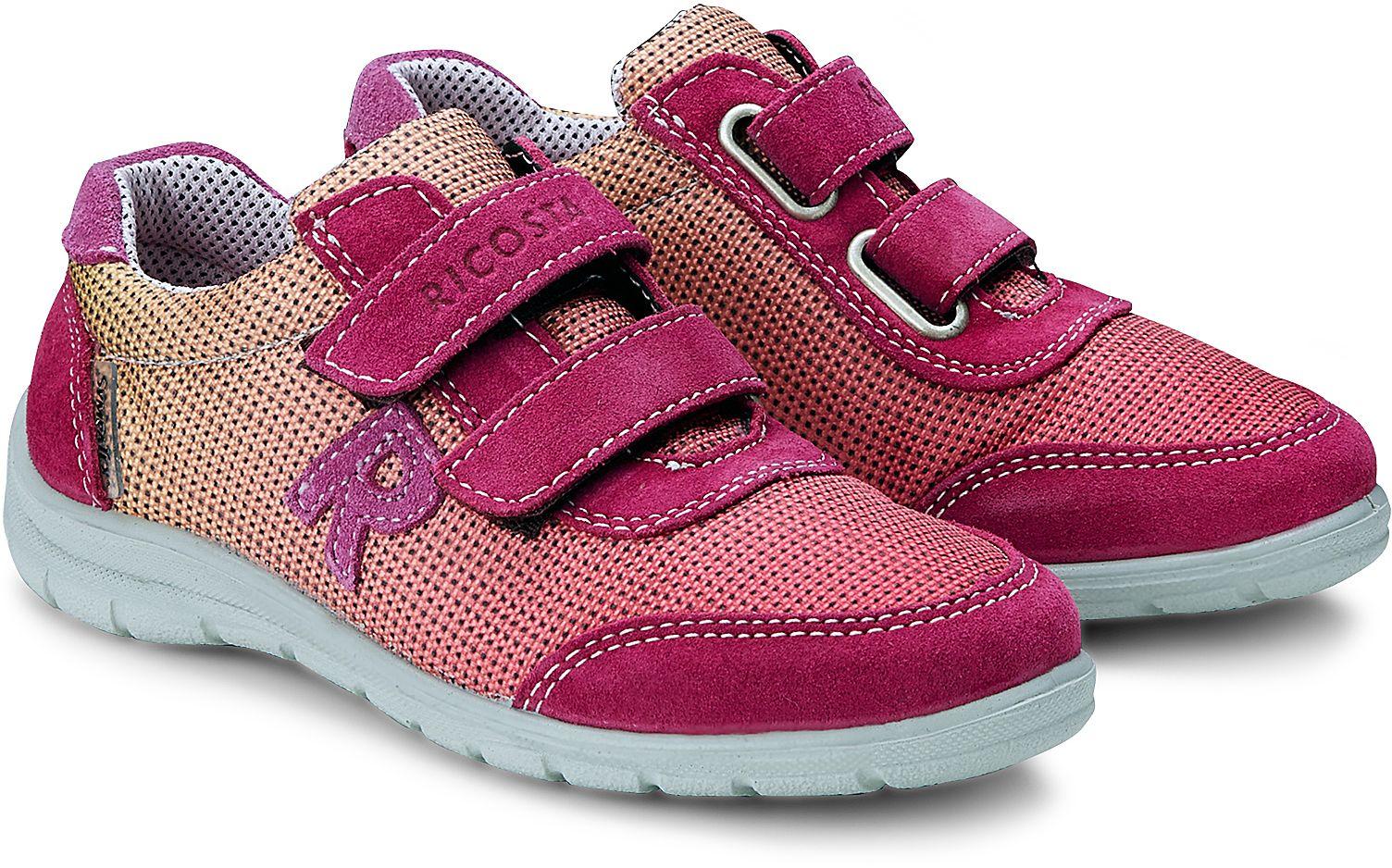 new product 39a16 6f4b4 Klett Sneaker KONNY von Ricosta in pink für Mädchen. Gr. 26 ...