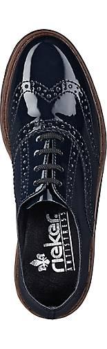 Rieker Brogue-Schnürer 45485501 in blau-dunkel kaufen - 45485501 Brogue-Schnürer | GÖRTZ 96886a