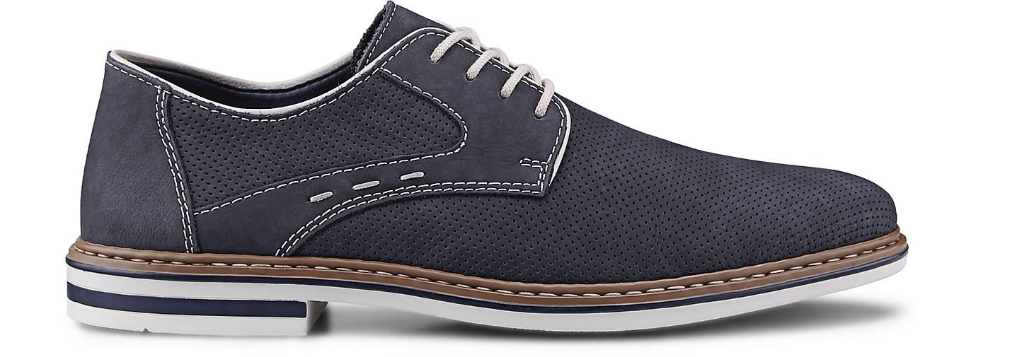 Rieker Freizeit-Schnürschuh in blau-dunkel kaufen - 46031001   Schuhe GÖRTZ Gute Qualität beliebte Schuhe   f18138