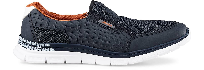 Rieker Freizeit-Slipper in blau-dunkel GÖRTZ kaufen - 46241401 | GÖRTZ blau-dunkel Gute Qualität beliebte Schuhe 19efde