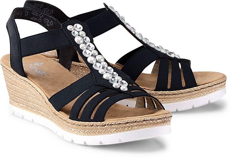 Neueste Mode aliexpress neueste rieker sandalette blau