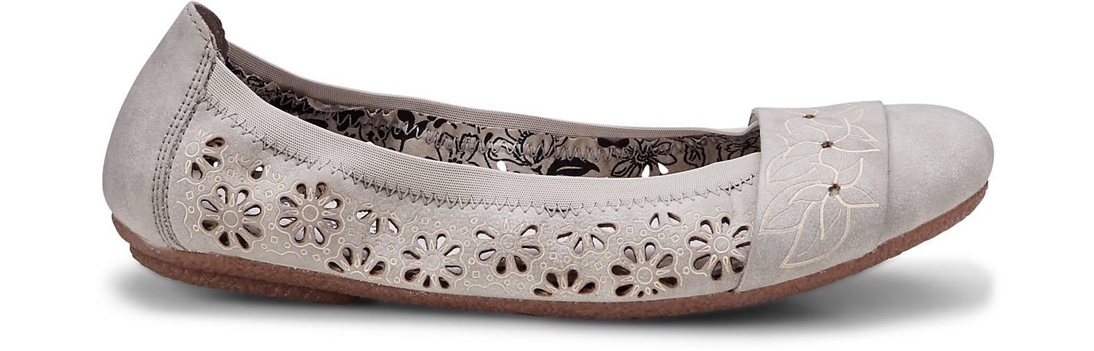 Rieker - Komfort-Ballerina in grau-hell kaufen - Rieker 45269801   GÖRTZ Gute Qualität beliebte Schuhe dcdd04
