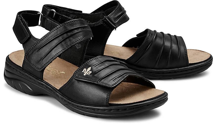 Rieker Komfort Sandale schwarz | GÖRTZ 64545202 WtcZx