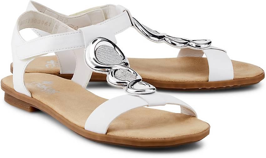 rieker komfort sandale in wei kaufen 48403801 g rtz. Black Bedroom Furniture Sets. Home Design Ideas