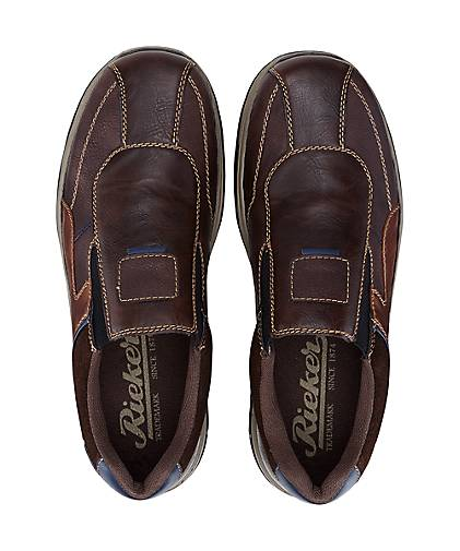 Rieker Rieker Rieker Komfort-Slipper in braun-dunkel kaufen - 46503801 GÖRTZ Gute Qualität beliebte Schuhe 3613a8