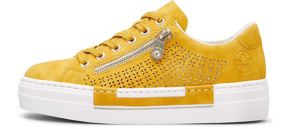 Rieker Komfort Sneaker gelb | GÖRTZ 31233601 ReAdg