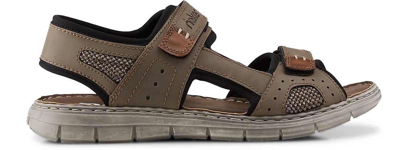 Rieker Outdoor Sandale khaki | GÖRTZ 48405301 vOX4E