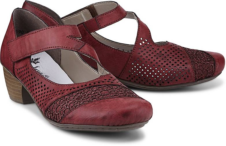 RIEKER Sling Pumps Sandalette Spangenschuhe Damen Schuhe