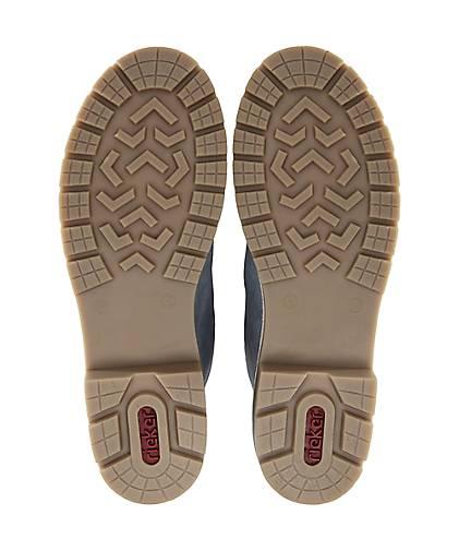 Rieker Schnür-Stiefel 47677801 in blau-hell kaufen - 47677801 Schnür-Stiefel   GÖRTZ Gute Qualität beliebte Schuhe c407a4