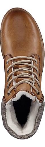 Rieker Schnür-Stiefel in braun-mittel kaufen Gute - 45791502 GÖRTZ Gute kaufen Qualität beliebte Schuhe ca13b4