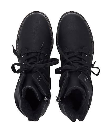 Rieker Schnür-Stiefelette in schwarz kaufen - - - 47673301 GÖRTZ Gute Qualität beliebte Schuhe 5b5632