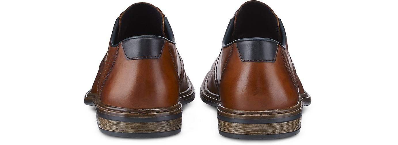 Rieker Schnürer CLERMONT in braun-dunkel kaufen kaufen kaufen - 48031201 GÖRTZ Gute Qualität beliebte Schuhe 3ef9ef