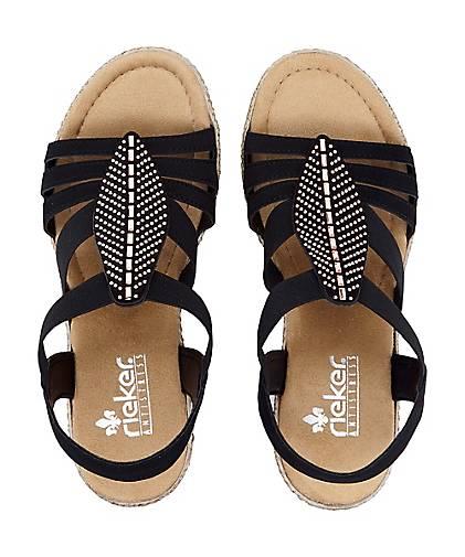 Rieker Sommer Sandalette dunkelblau   GÖRTZ 31229201