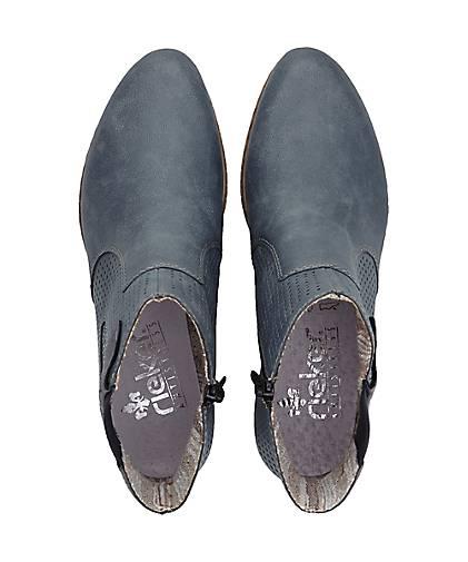Rieker Stiefelette PRESTON in blau-mittel kaufen kaufen kaufen - 48032401 GÖRTZ Gute Qualität beliebte Schuhe 866b0a