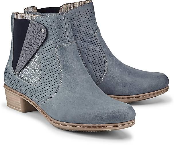 Rieker Stiefelette PRESTON in blau-mittel kaufen - 48032401 beliebte GÖRTZ Gute Qualität beliebte 48032401 Schuhe 52a8a0
