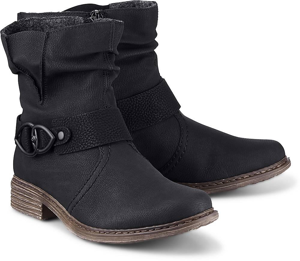 Trend-Boots von Rieker in schwarz für Damen. Gr. 36,37,38,39,40 Preisvergleich