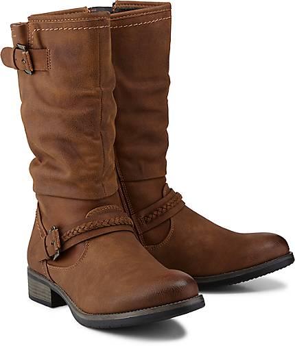Rieker Trend-Stiefel in braun-mittel kaufen - 47846001   GÖRTZ 15968ced09