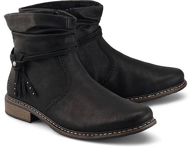 Rieker Trend Stiefelette schwarz | GÖRTZ 48785101 AuHha