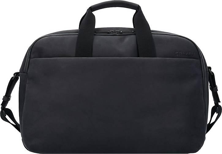 SALZEN Workbag Aktentasche Leder 44 cm Laptopfach