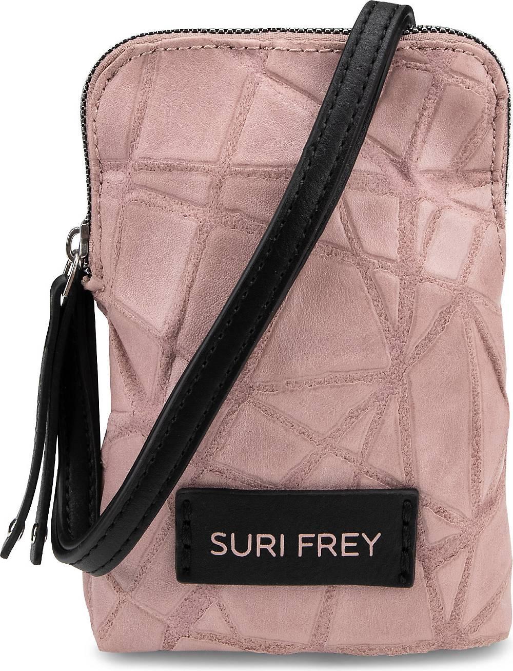 SURI FREY, Handytasche Kimmy in rosa, Handyhüllen & Zubehör für Damen