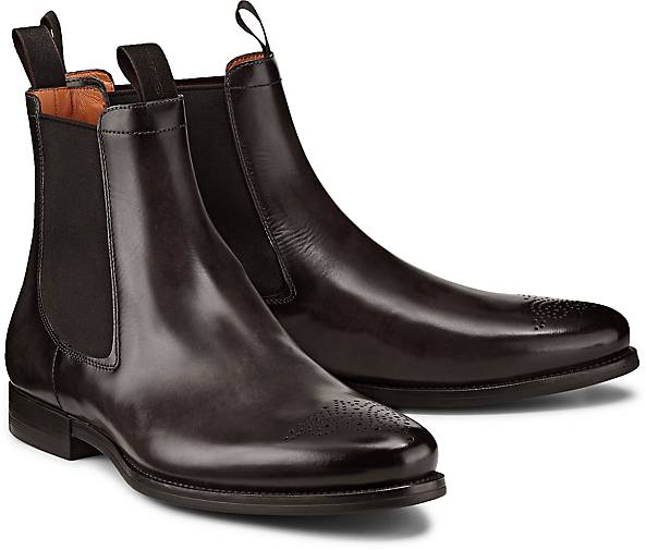 b2e97cd807827f Santoni Chelsea-Boots in grau-dunkel kaufen - 47651401