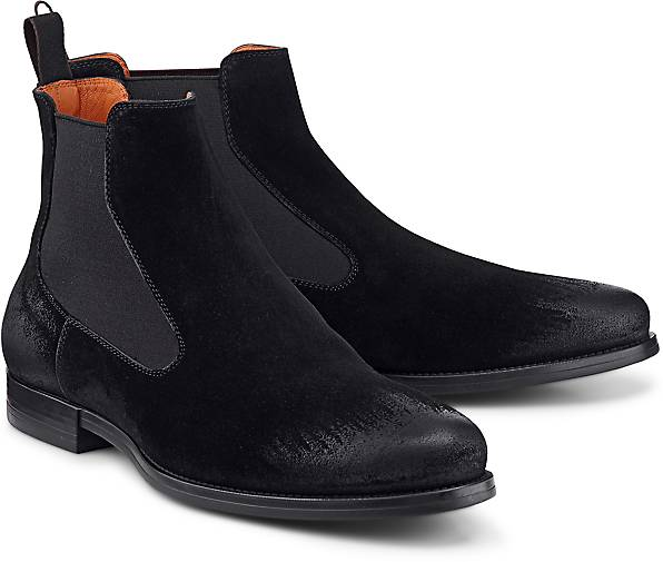 Santoni Chelsea-Boots in schwarz kaufen - Qualität 47651701 | GÖRTZ Gute Qualität - beliebte Schuhe 25de12