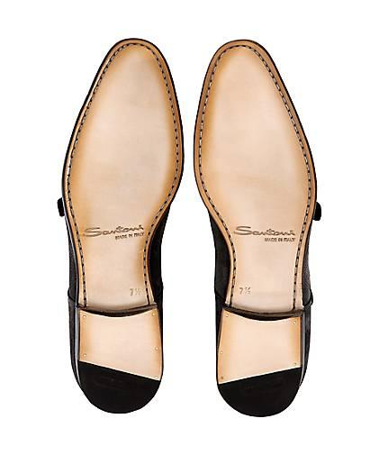 Santoni - Doublemonk-Slipper in braun-dunkel kaufen - Santoni 47328501 | GÖRTZ Gute Qualität beliebte Schuhe d07002