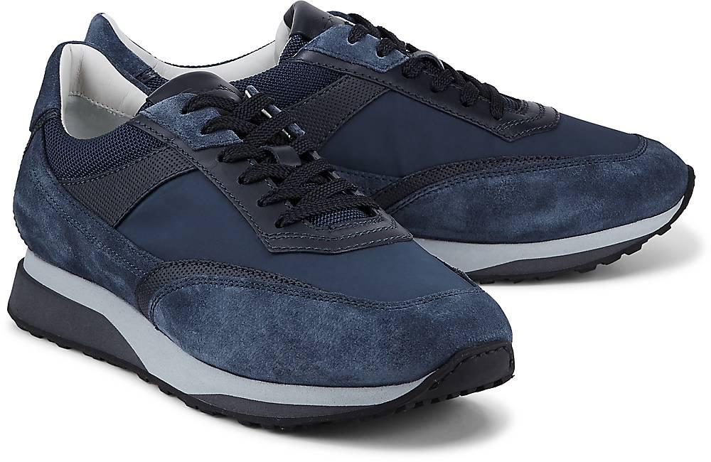 Fashion-Sneaker von Santoni in blau für Herren. Gr. 42,43 1/3 Preisvergleich